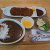 翠月 - 料理写真:Bランチ カツカレーセット680円