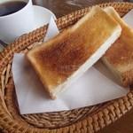 オックスコーヒーレストラン - モーニング・Bセット(550円)
