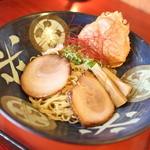 らうめん考房 昭和呈 - ずわい蟹の濃厚まぶし潮麺☆