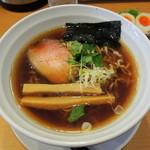 テラ - 2014年1月19日(日) 中華SOBA(丸鶏上湯スープ)750円