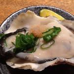 旬魚菜 よし田 - シェル牡蠣