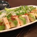 いざかや ほうせいどう - アボガドと豆腐のサラダ