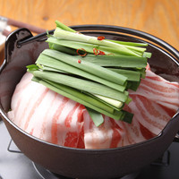 市場に出回らない極上豚『長崎芳寿豚』の豚鍋をご堪能ください