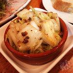 ワインビストロ ピコレ - 「アンチョビ白菜」 630円