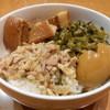 口福館 - 料理写真:500えん『台湾肉丼』2014.3
