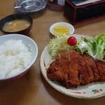 三原屋食堂 - 料理写真:カツ定食