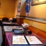インド料理 マナカマナ - 若干、質感がupした?座席