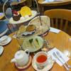 紅茶館 - 料理写真:本格的アフタヌーンティー☆o(≧▽≦)o☆