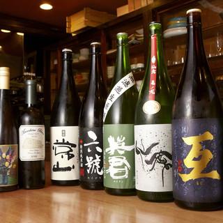 旨味たっぷりの貝と一緒に、日本酒はいかがでしょうか