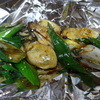 きゃべつ畑 - 料理写真:ネギとカキのしょうゆ炒め2人前