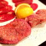 炭火焼肉 貴仙 - 牛タンセット