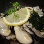 しまたろう - 料理写真:カキポン酢