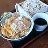一休そば  - 料理写真:【2014/02】かつ丼セット
