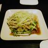 餃子厨房 福楽門 - 料理写真:蒸し鶏と長ネギの和え物・・・だったかな?