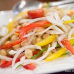 南インド料理ダクシン - 玉ねぎと茹でたインド豆のサラダ【2014年3月】