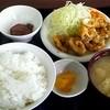 秋田中央交通社員食堂 - 料理写真:日替わり定食(この日はイカリング) 450円