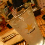 とり政 - レモンサワー350円