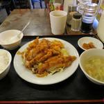 泰陽飯店 - 油淋鶏 定食