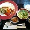 フルール - 料理写真:さわらとふきのとう味噌とポテトサラダチーズ焼き厚あげ和風煮添え 890円