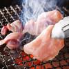鶏や わびすけ - 料理写真:備長炭で焼きあげる、炭の香りがかぐわしい「錦爽鶏」