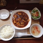 穂の華 - 料理写真:麻婆豆腐ランチセット♪