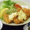 KITCHENひろ - 料理写真:当店自慢    チキン南蛮  耶馬渓鶏もも肉を使用してます。 タルタルも手作りです。