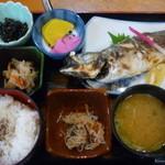 兵四楼 - 焼き魚定食