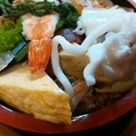 割烹 寿司魚かね - ちらしの別アングル