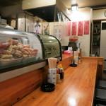 七べえ - 店内は普通の居酒屋。おひとり様も多いみたい。