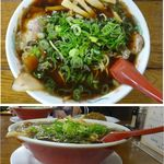 新福菜館 三条店 - 中華そば。新福菜館三条店(京都市)食彩賓館撮影