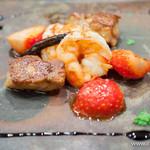 モンプチコションローズ - 料理写真:本日のフォアグラの料理【2013年12月】