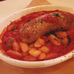 24997871 - サルシッチャと白いんげん豆の煮込み