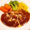 レストラン ルミネ - 料理写真:デミグラスきのこのハンバーグ