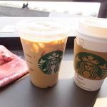 スターバックスコーヒー - アイスラテ:トール:380円+ホットラテ:380円