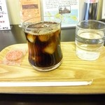 BUNGA CAFE OSAKA - トラジャ産冷コー(アイスコーヒー)450円