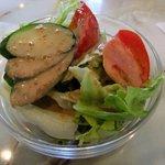 亜煉路館 - ランチのサラダ
