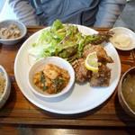 やさいとお酒  ひだまりカフェ - お惣菜2品セット ¥1000