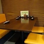 旬鮮酒場 Dank - (2014/1月)テーブル席