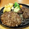 ステーキのどん - 料理写真:スライスステーキ90g&超・粗挽きハンバーグ250g1,290円