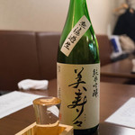 ichi - 美寿々 純米吟醸