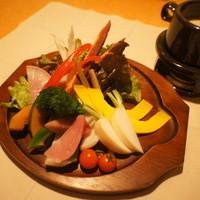 有機野菜たっぷりバーニャカウダ スタンダードサイズ