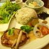 さんるーむ - 料理写真:レンコンハンバーグはふわっとしていて美味しかった