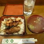 とりまさ - 焼鳥丼 ¥500-