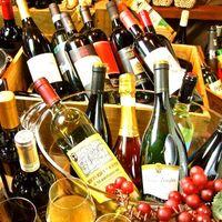 イタリア産の美味しいお手頃ワインを多数そろえております☆
