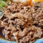 讃岐うどん はるしん - 肉ぶっかけ(肉)