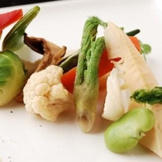 厳選されたお野菜たち