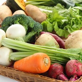 無農薬野菜にこだわり体に優しいフレンチを・・