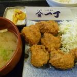 魚や一丁 - 唐揚げ定食 税込780円