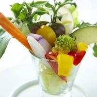 篤農家の野菜サラダバー