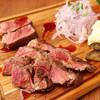 ベルサイユの豚 - 料理写真:厚切り国産牛のイチボステーキ! 高級部位をお得に美味しく♪